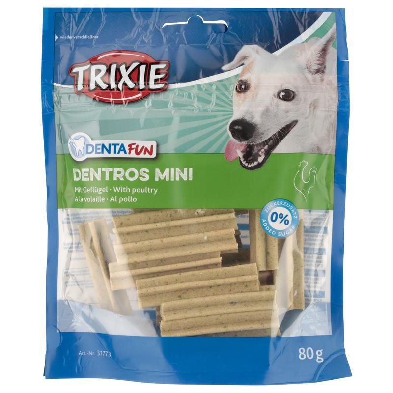 TRIXIE DentaFun Mini DENTROS, 80g