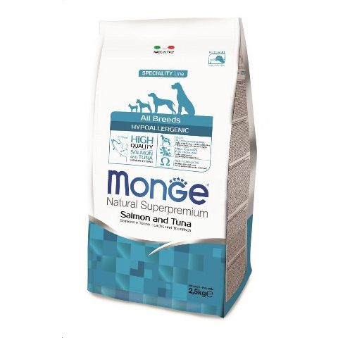Monge Natural Super Premium: Adult Hypoallergenic Fish