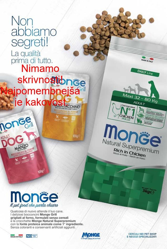 Monge Natural Super Premium: Mini Puppy & Junior