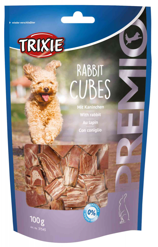 TRIXIE Rabbit Cubes, 100g