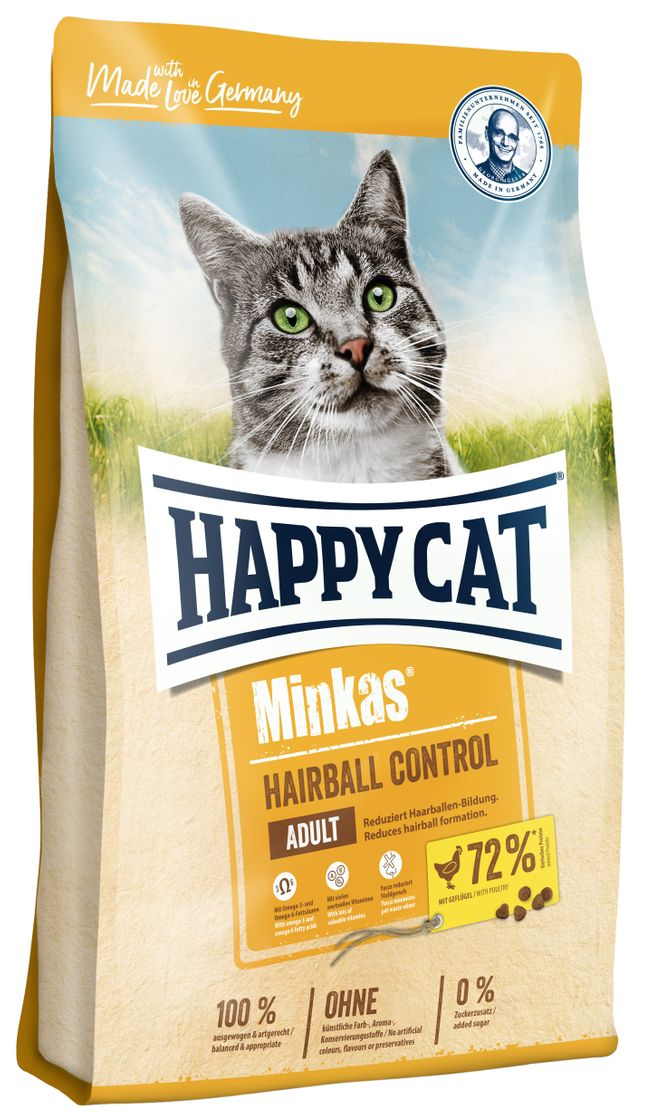 HAPPY CAT MINKAS Hairball Control