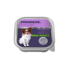 PREMIERE BEST MEAT MINI Adult Teletina/Jelen, 100g