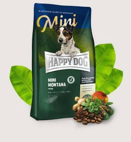 Happy Dog Supreme Mini Montana, BREZ ŽIT!