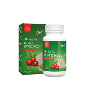POKUSA Rose Hip & MSM 120 Tablet, Za zdrave kosti in sklepe